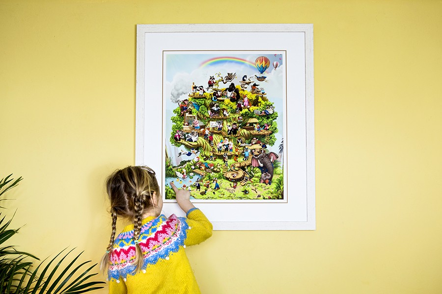 Gifts for children - a personalised picture