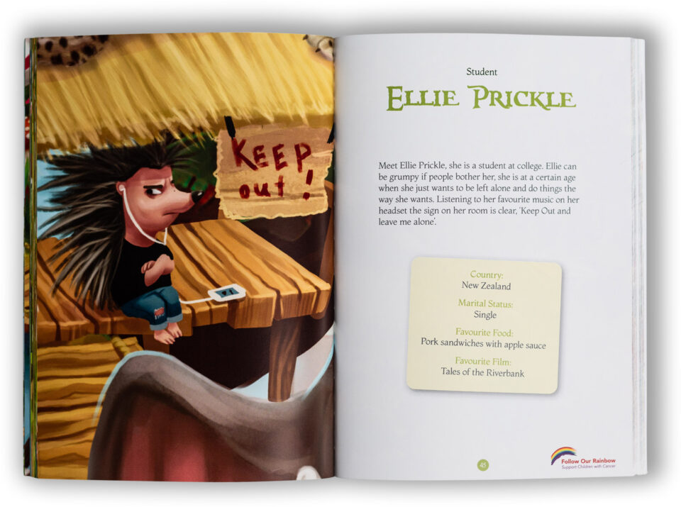 Meet the Characters Book
